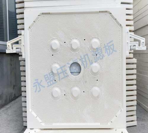 隔膜压滤机滤板生产厂家-1000圆形滤板-禹州市永盟压滤机滤板有限公司