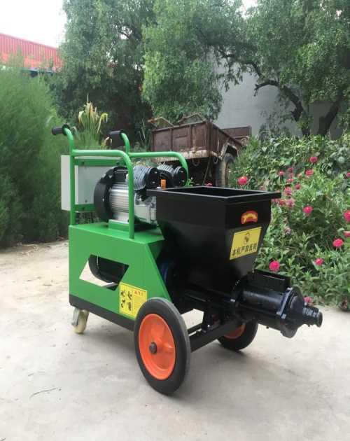砂浆喷涂机厂家-商用牛筋面机-隆尧县昂达机械厂