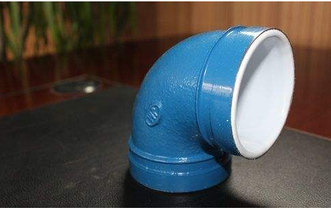 Acid and alkali resistant plastic elbow_E 路 网