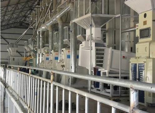 成套大米加工设备_碾米其他食品、饮料加工设备