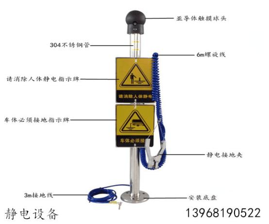防爆静电接地系统_华夏玻璃网