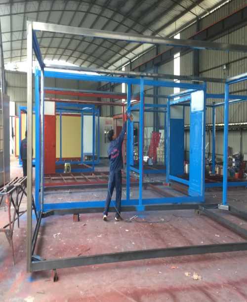 集装箱房转让_便捷工地施工材料搭建