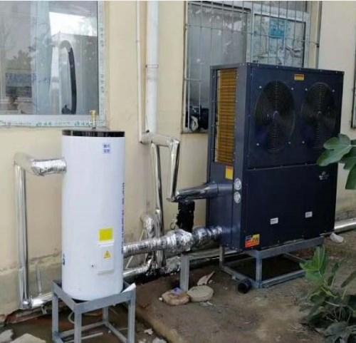 洛阳宾馆空气源热水器原理_学校热水换热、制冷空调设备销售