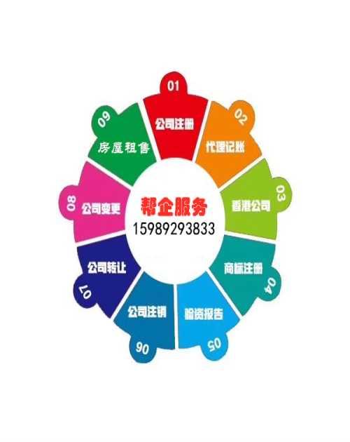 广州市帮企工商财税代理有限公司