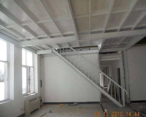 建筑钢结构平台设计_无锡钢结构