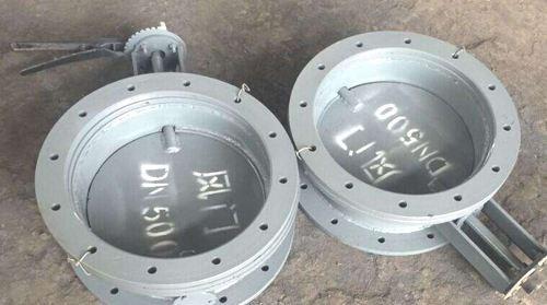 多叶钢制手动圆风门生产厂家_多叶钢制管道辅助材料