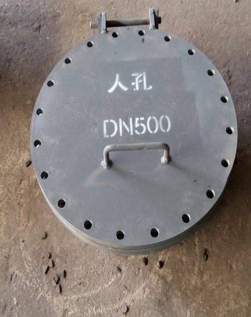 直径500圆形焊制人孔55001_圆形管道辅助材料55001