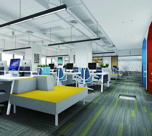 成都高新区写字楼设计费用_办公室设计相关