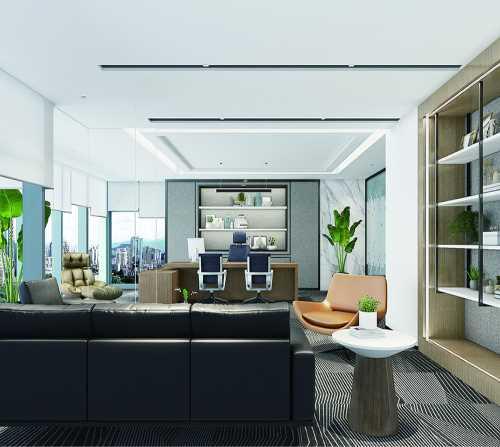专业的成都办公室设计费用_四川建筑、建材费用
