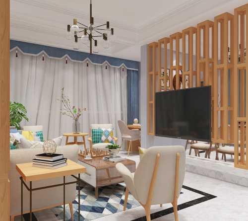 室内设计费用_提供装潢设计施工
