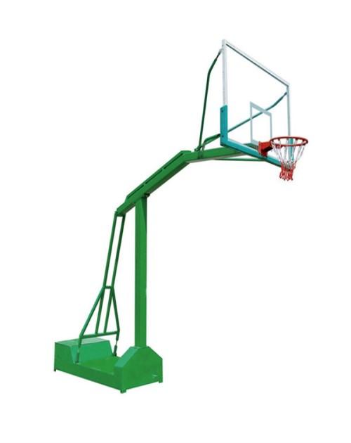 移动简易篮球架生产商_液压篮球用品价格