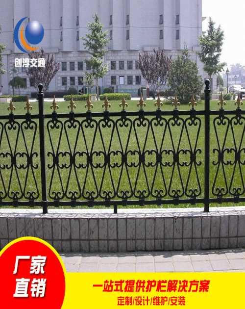 浙江锌钢护栏哪家好_无锡园艺护栏厂家