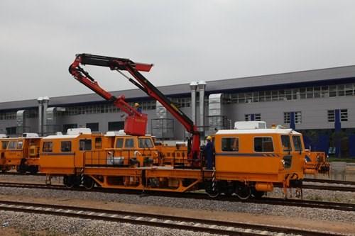 大型养路机械道床清洁检查车_高铁其他行业专用设备作业测量车