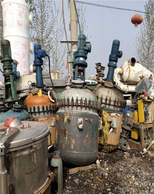 河北二手搪瓷反应釜回收_二手1吨搪瓷反应釜相关