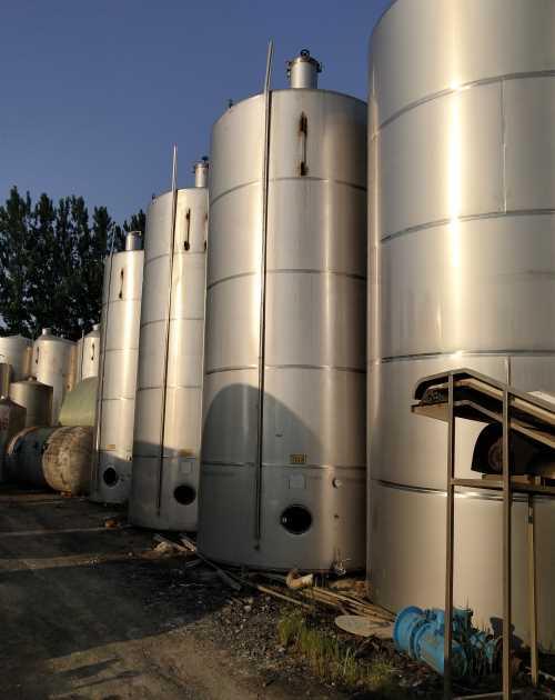 吉林不锈钢储罐回收_内蒙古二手工程机械回收