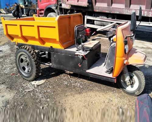 五征矿用三轮车厂家直销_3吨铲土运输机械型号