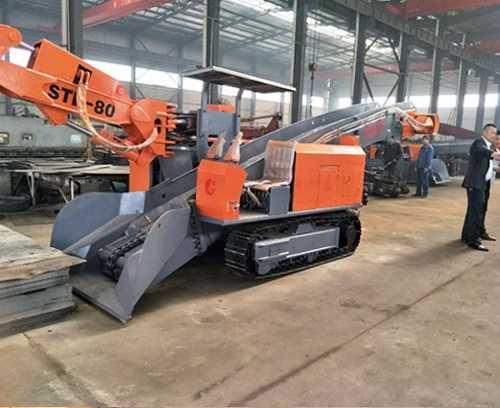 小型煤矿破碎挖掘一体机采购_轮式其他工程与建筑机械采购
