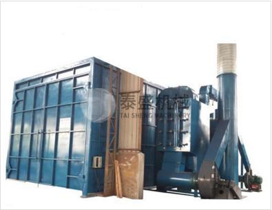全自动喷砂房设备_大型机械及行业设备多少钱