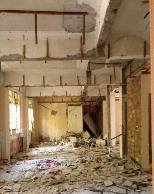 门面室内拆除公司_工程施工电话