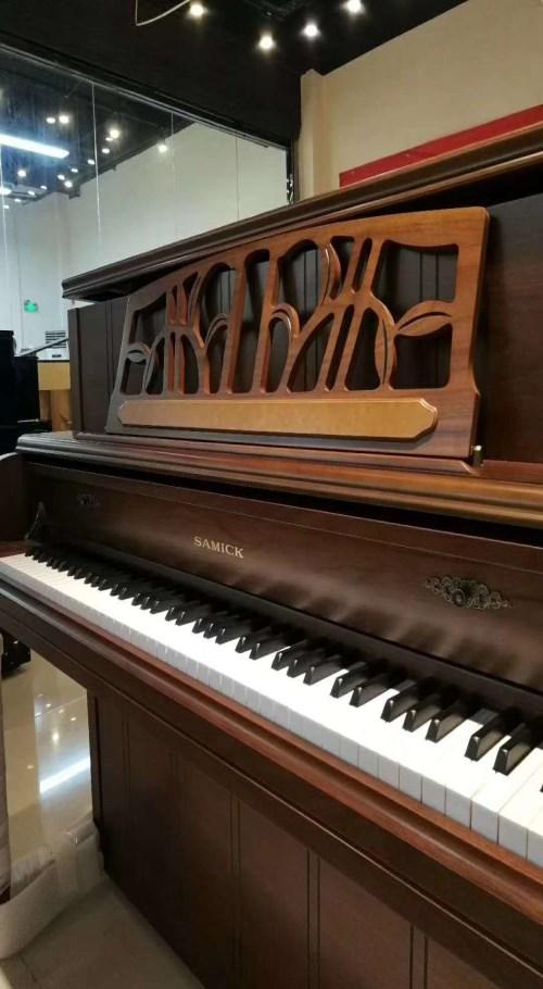 三益钢琴_买SAMICK键盘类乐器-河南欧乐乐器有限公司