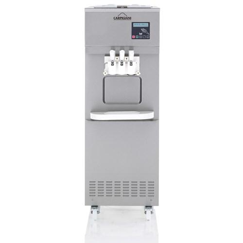 水冷冰淇淋机怎么使用_重力自流冷冻食品加工设备