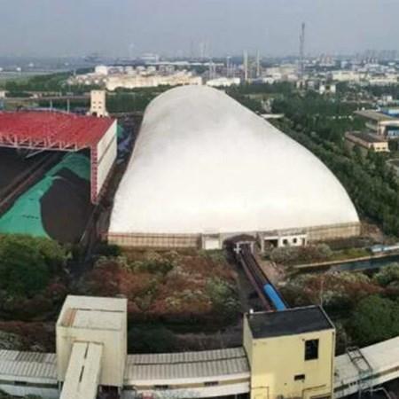 北京充气膜结构体育馆_双层建筑项目合作结构设计