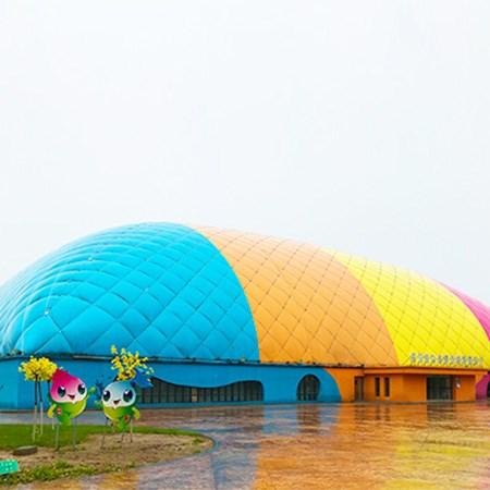 北京气膜篮球馆_建筑项目合作