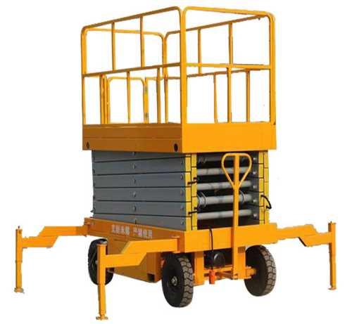 剪叉式升降平台价格_小型升降平台相关-河南同威起重机械有限公司