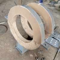 蒸汽管道蛭石管托生产厂家_焊接工业锅炉及配件生产厂家