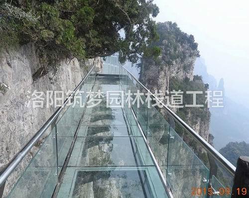 玻璃吊桥施工一般多少钱_园林工程施工