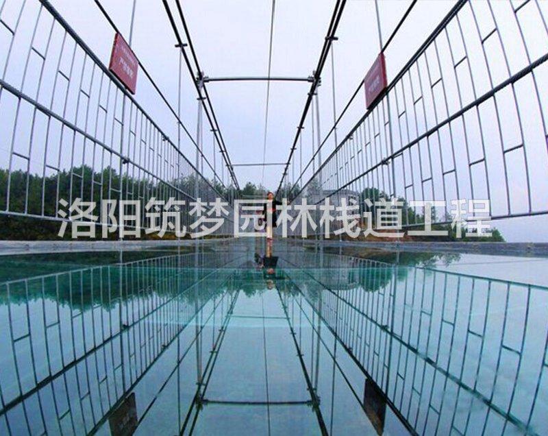 景区玻璃吊桥施工建设造价多少_透明工程施工