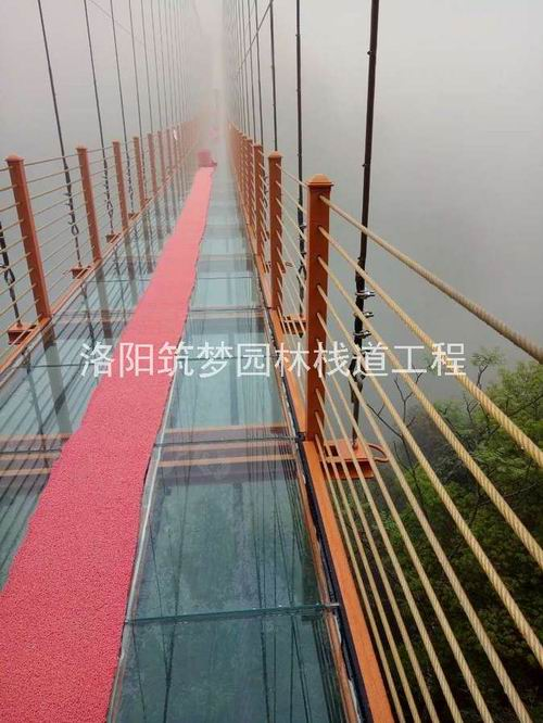 景区观景平台工程承包建设_防腐木工程施工