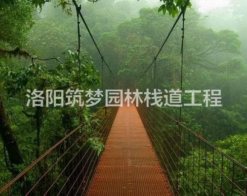 观景平台效果图_防腐木工程施工