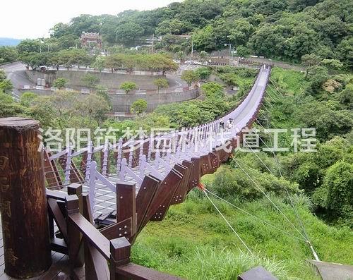 景区观景平台如何设计_防腐木工程施工