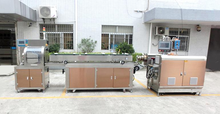 高溫塑料擠出機廠家_醫用導管塑料擠出機廠家
