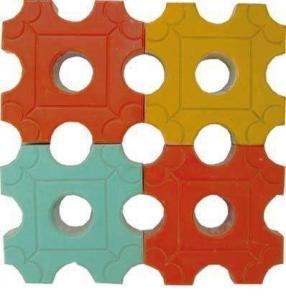偃师彩色透水砖_砖、瓦及砌块