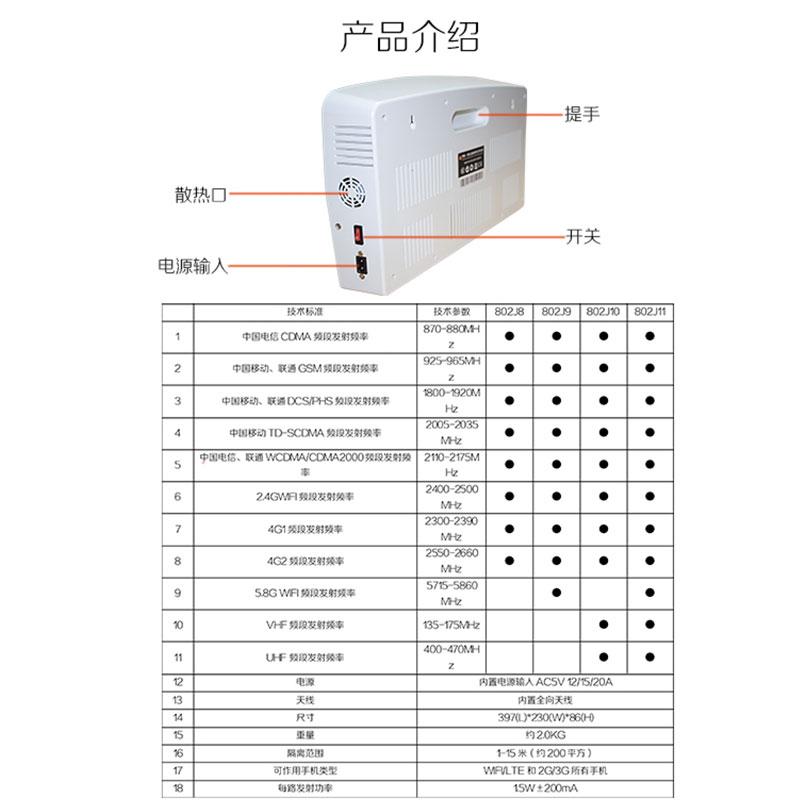 防录音录音屏蔽器生产厂家_wifi屏蔽器相关