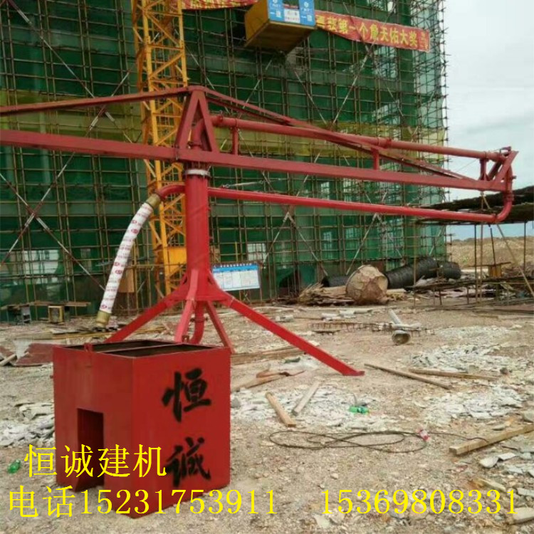 手动小型布料机型号_混凝土输送设备混凝土搅拌机械多少钱一台