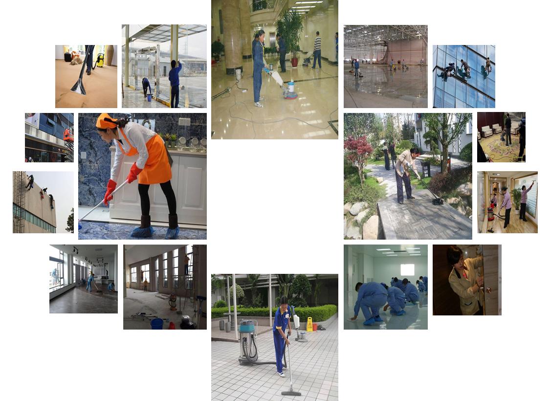 高品质楼宇保洁流程_保洁服务相关