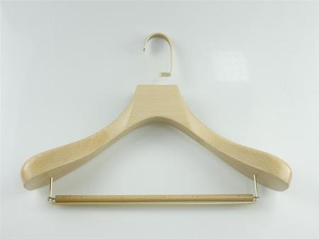原木挂衣架_实木服装展示道具