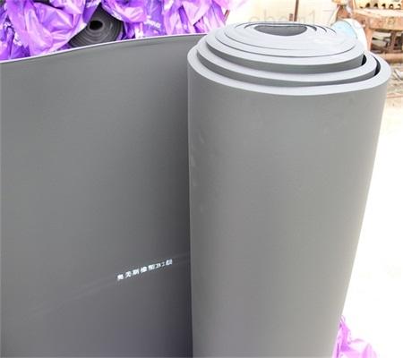 带铝箔橡塑板厂家价格_绝热橡塑-河北奥美斯B1级橡塑材料有限公司