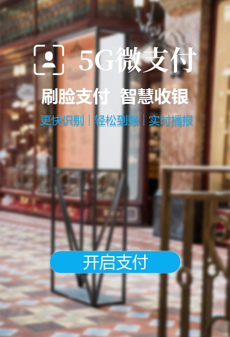 超市5G微支付项目招商加盟_人脸支付网络工具软件项目怎么挣钱