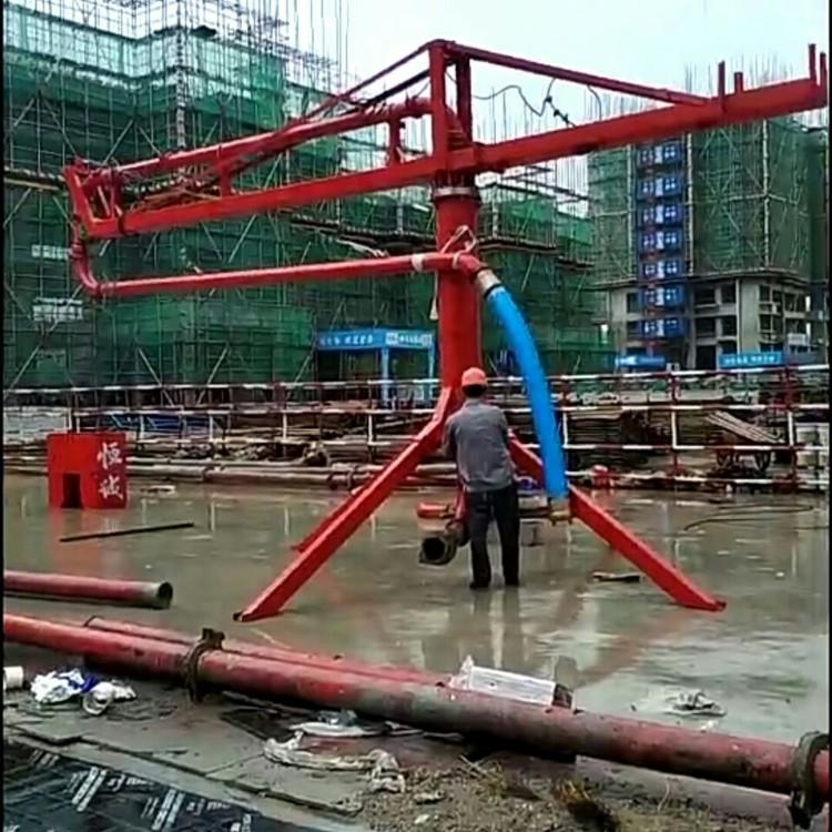 手动建筑混凝土布料机哪家便宜_支架式其他工程与建筑机械砼料机