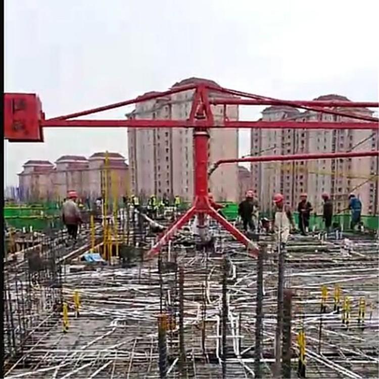 建筑混凝土布料机哪里有卖_圆管其他工程与建筑机械中心支撑支撑