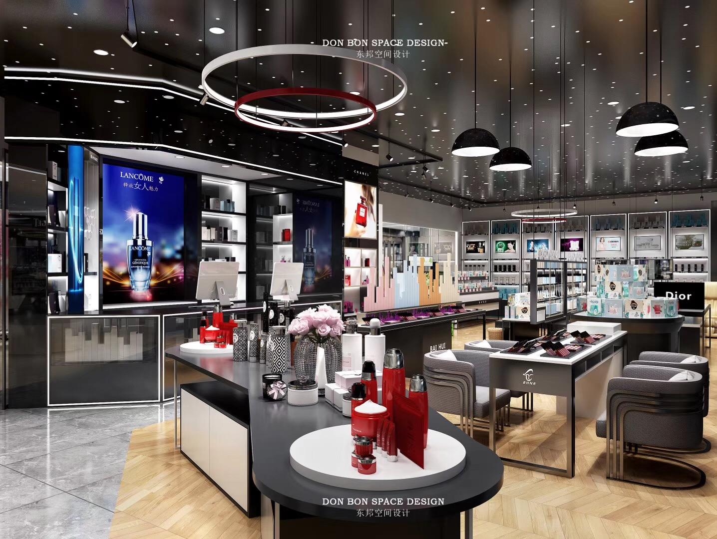 优质化妆品柜台厂_商场展示柜-广州新泽展示用品有限公司