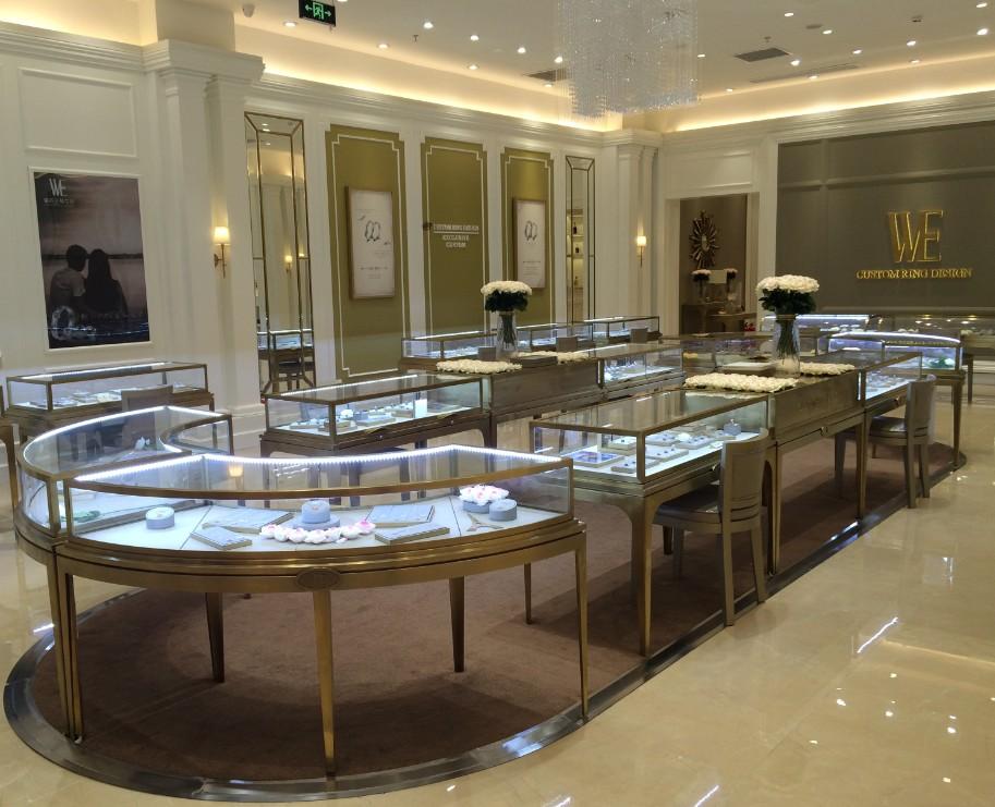 高端珠宝展柜多少钱_高档珠宝展柜相关-广州新泽展示用品有限公司