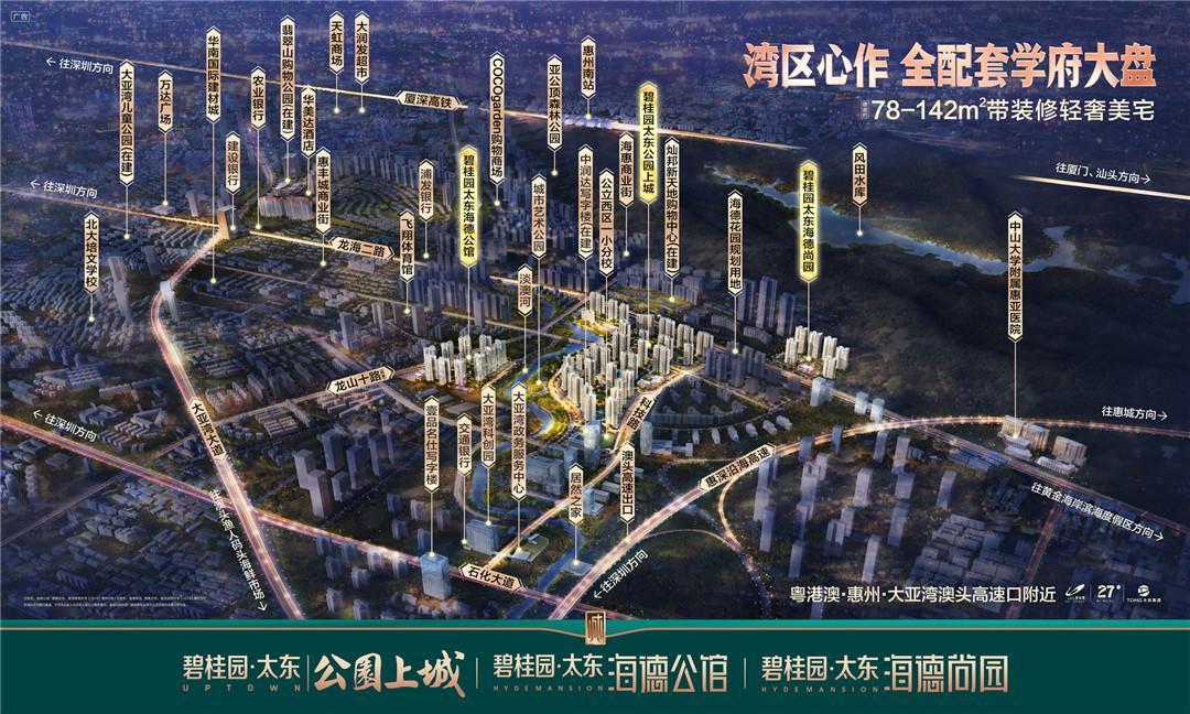 碧桂园楼盘_惠州公寓、花园、别墅房价-开元创盈
