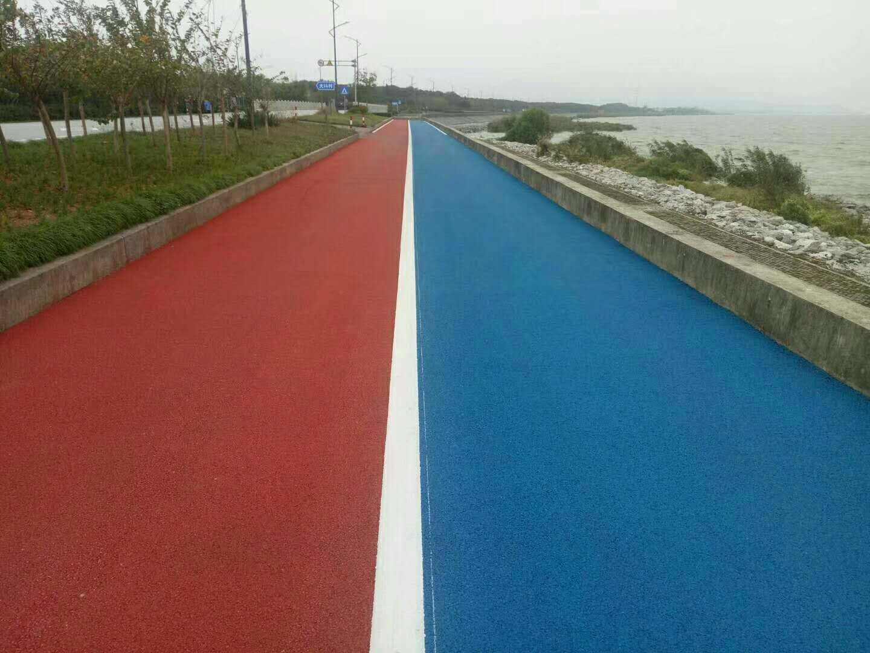 彩色沥青混凝土施工_哪里有路面机械-四川瑞欣公路材料有限责任公司