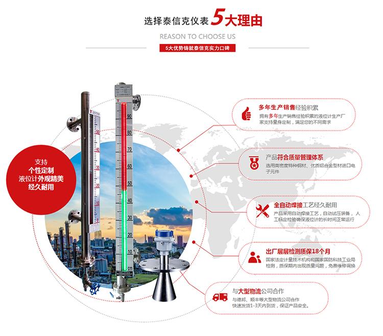 安徽正规磁翻板生产厂家_高温磁翻板液位计相关-河南泰信克仪表技术有限公司