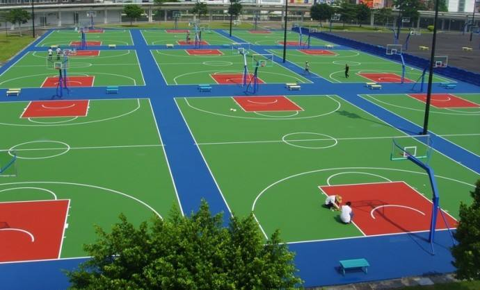 知名塑胶篮球场施工电话_篮球场面积相关-安徽正奥体育设施有限公司